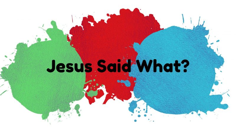Jesus Said What? Videos from the Kids