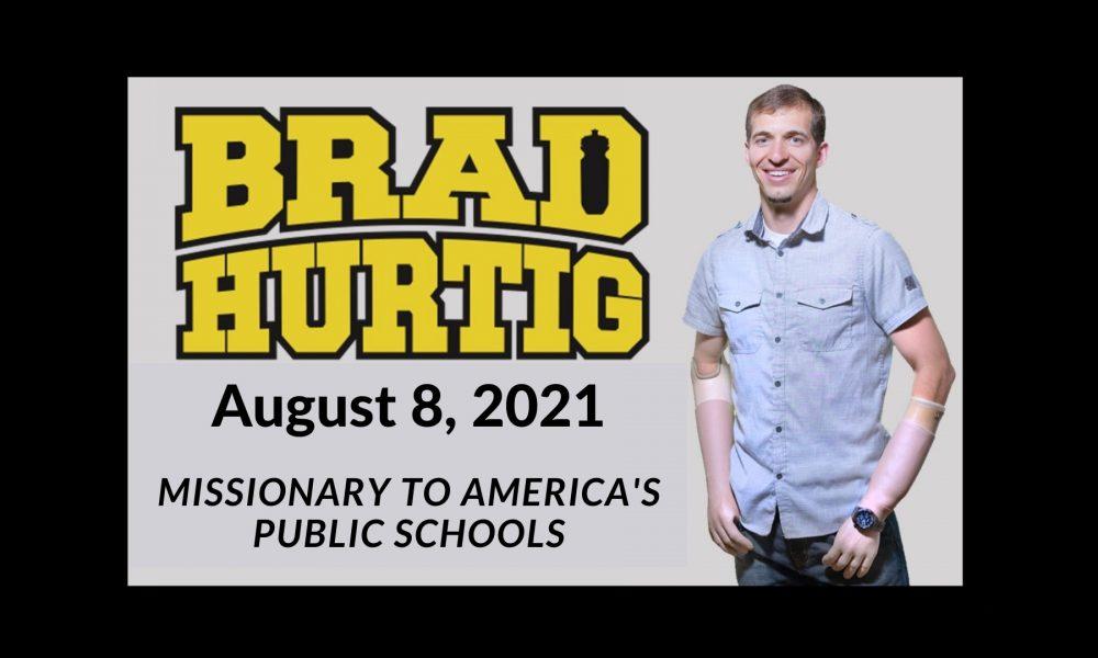 Guest Speaker Brad Hurtig